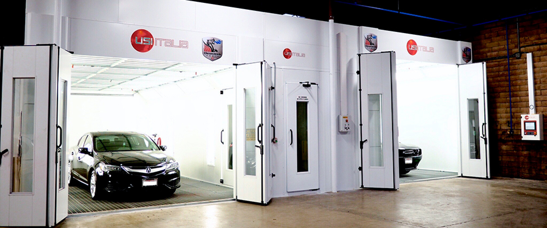 Xcel Collision Center - Spray Booths