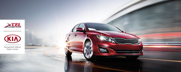 Xcel Collision Center is a Kia Recognized Collision Repair Center.
